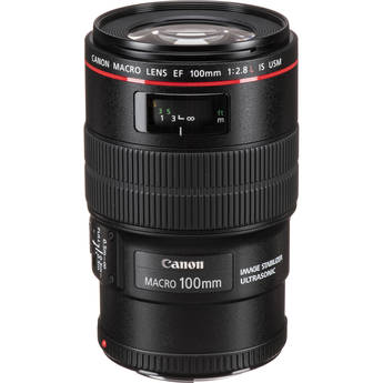 Canon EF 100mm f/2.8L Macro IS USM Lens