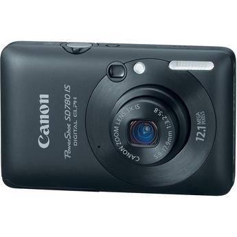 Canon PowerShot SD780 IS Digital Camera (Black)