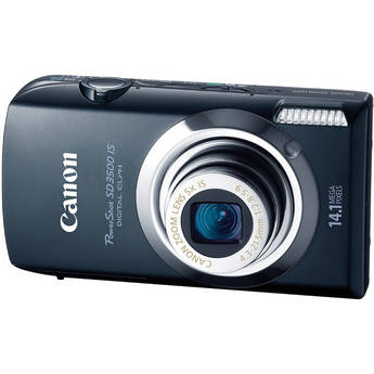 Canon PowerShot SD3500 IS Digital ELPH Camera (Black)