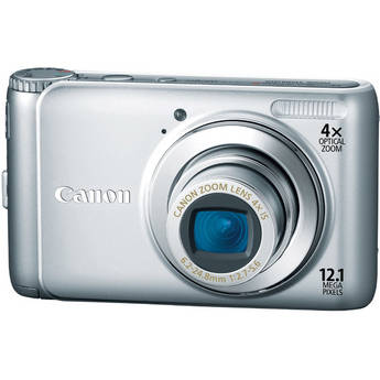 Canon PowerShot A3100 IS Digital Camera (Silver)