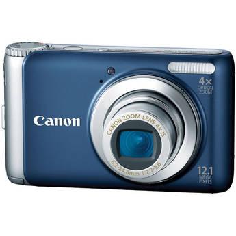 Canon PowerShot A3100 IS Digital Camera (Blue)