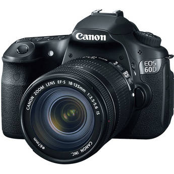 Canon EOS 60D DSLR Camera Kit with Canon EF-S 18-135mm IS Lens