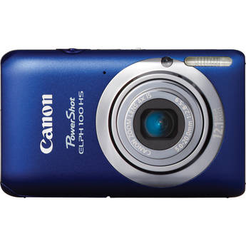 Canon Powershot 100 HS Digital ELPH Camera (Blue)