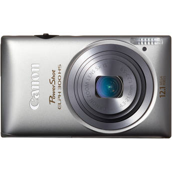 Canon Powershot 300 HS Digital ELPH Camera (Silver)