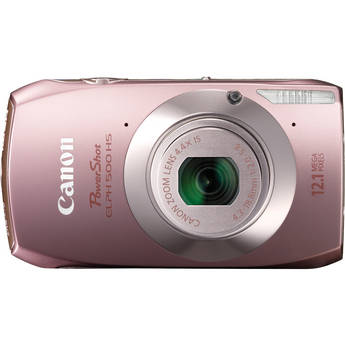 Canon Powershot 500 HS Digital ELPH Camera (Pink)