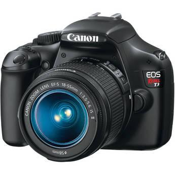 Canon EOS DIGI RBL T3 w/EF-S/18-55 IS II(BLK