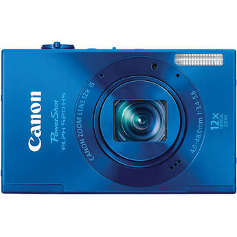 Canon PowerShot ELPH 520 HS Digital Camera (Blue)