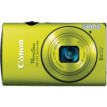 Canon PowerShot ELPH 310 HS Digital Camera (Green)