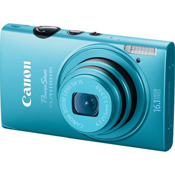 Canon PowerShot ELPH 110 HS Digital Camera (Blue)