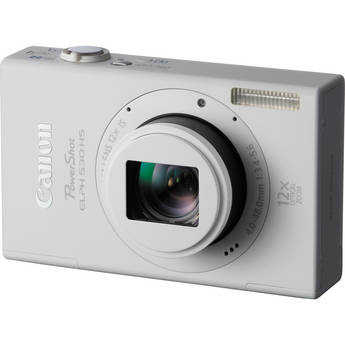 Canon PowerShot ELPH 530 HS Digital Camera (White)