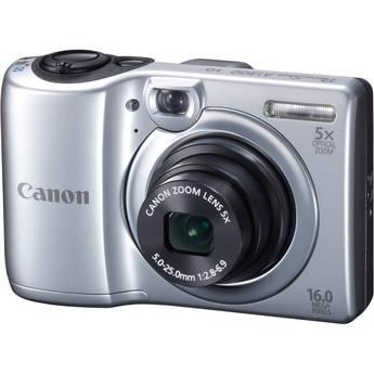 Canon PowerShot A1300 Digital Camera (Silver)