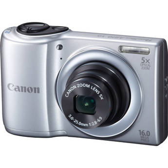 Canon PowerShot A810 Digital Camera (Silver)