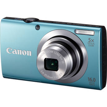 Canon PowerShot A2400 IS Digital Camera (Blue)