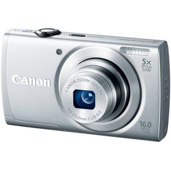 Canon PowerShot A2600 Digital Camera (Silver)