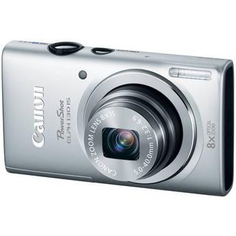 Canon PowerShot ELPH 130 IS (Silver)