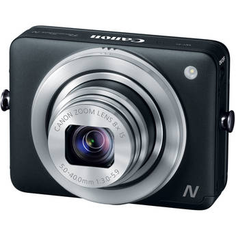 Canon PowerShot N Digital Camera (Black)