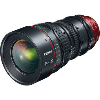 Canon CN-E15.5-47mm T2.8 L S Wide-Angle Cinema Zoom Lens with EF Mount