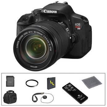Canon Canon EOS Rebel T4i Digital Camera & 18-135mm IS STM Lens Basic Accessory Kit