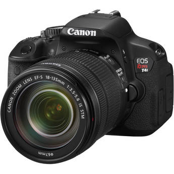 Canon EOS Rebel T4i Digital Camera with EF-S 18-135mm f/3.5-5.6 IS STM Lens