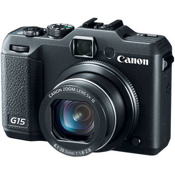 Canon PowerShot G15 Digital Camera