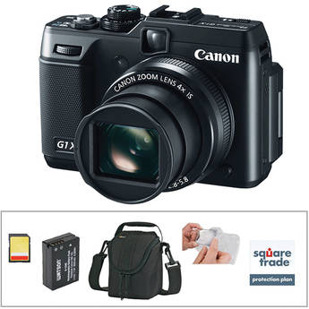 Canon PowerShot G1 X Digital Camera Deluxe Kit