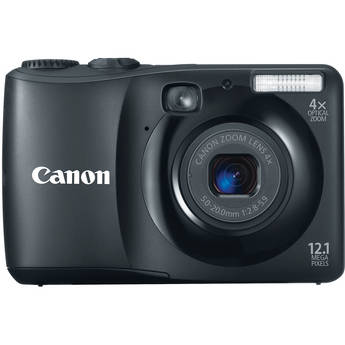 Canon Powershot A1200 Digital Camera (Black)