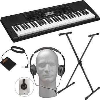 Casio CTK-3200 61-Note Keyboard Value Bundle