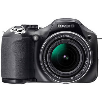 Casio Exilim EX-FH20 Digital Camera (Black)