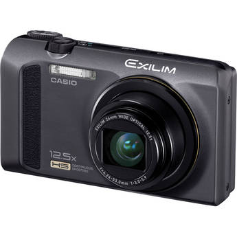 Casio EX-ZR100 Exilim Digital Camera (Black)
