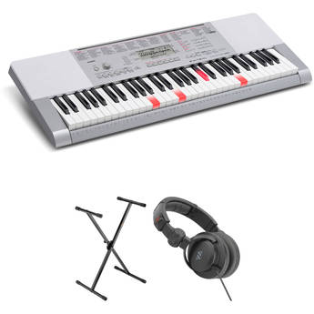Casio LK-280 Portable Keyboard Basics B&H Kit
