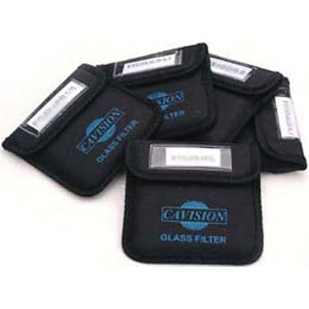 """Cavision 5 x 5"""" Set of 5 Glass Filters"""