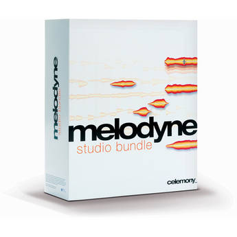 Celemony Melodyne3 studio bundle - Pitch Shifting and Time Stretching Software