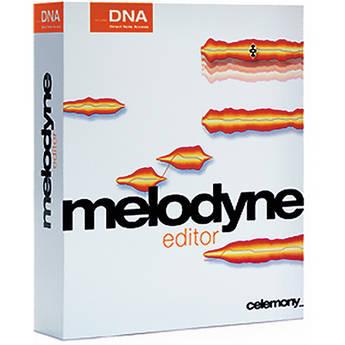 Celemony Melodyne editor - Polyphonic Pitch Shifting/Time Stretching Software (Upgrade)