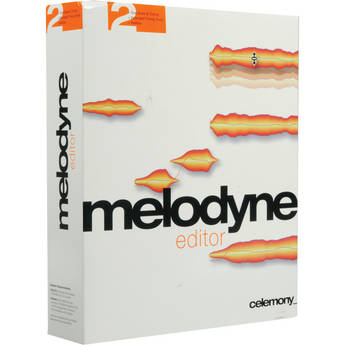 Celemony Melodyne editor 2.0 - Polyphonic Pitch Shifting/Time Stretching Software