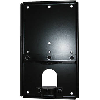 Chief Small Flat Panel Wall Plate Accessory (Black)