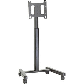 Chief PFC-UB Universal Flat-Panel Display Mobile Cart (Black)