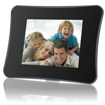 """Coby DP860 8"""" Digital Photo Frame with Multimedia Playback (Contemporary)"""