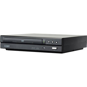 Coby DVD-224 Compact DVD Player (Black)