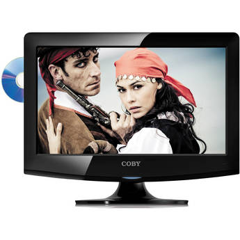 "Coby LEDVD1596 15"" LED TV w/ DVD Player"