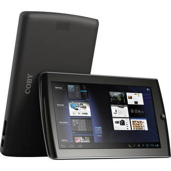 """Coby 4GB MID7033 7"""" Android 4.0 Resistive Touch Tablet"""