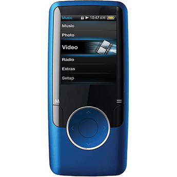 Coby MP620 MP3 Player (Blue)