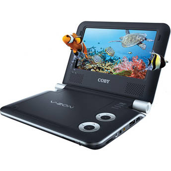 "Coby TF3DVD7019 7"" Portable 3d DVD / CD / MP3 Player"