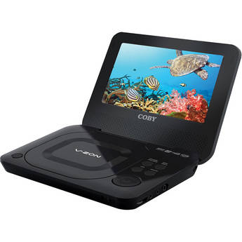 "Coby TFDVD7011 7"" Portable DVD / CD / MP3 Player"