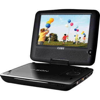 """Coby TFDVD7309 7"""" Portable DVD Player"""