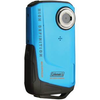 Coleman Waterproof HD Pocket Video Camera (Blue)