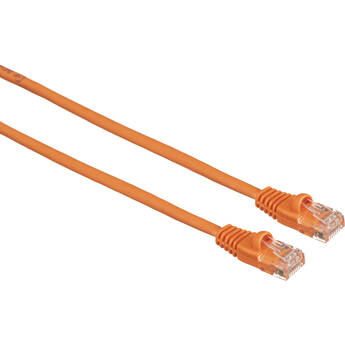 Comprehensive Cat5e 350 MHz Snagless Patch Cable (50', Orange)