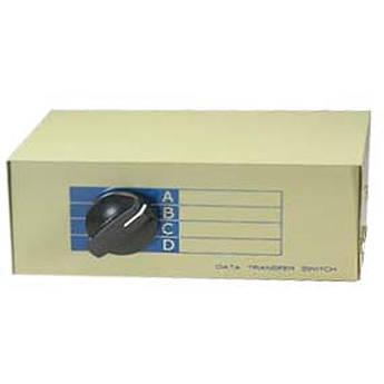 Comprehensive CSWM-1284-1X4 DB25 IEEE-1284 Data Switch Box