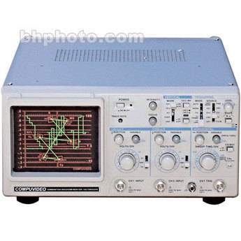 Compuvideo SVR-3000APAL Waveform Monitor and Vectorscope