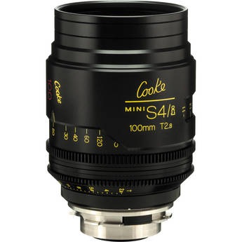 Cooke 100mm T2.8 miniS4/i Cine Coated Lens