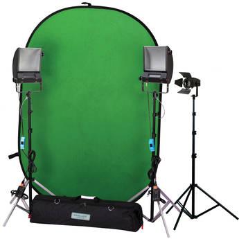Cool-Lux Hollywood Chroma Key Blue/Green Screen Kit II